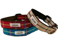 Dogberry Plaid Collar