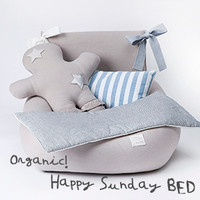 Louisdog Organic Happy Sunday Bed
