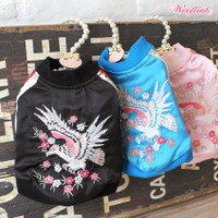 Wooflink Embroidery Bomber Jacket