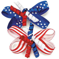 Patriotic Celebration Barrettes