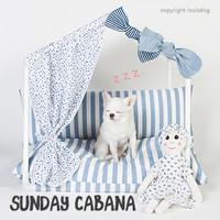 Louisdog Peekaboo Sunday Cabana