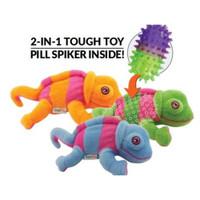 Chamelon Pill Spiker 2-in-1 Dog Toy