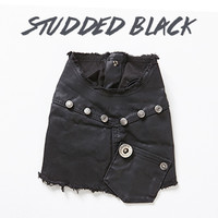 Louisdog Studded Black Vest