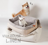 Louisdog Linen Viva Dog House