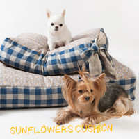 Louisdog Sunflowers Cushion