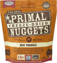 Primal Freeze-Dried Canine Beef Formula Food