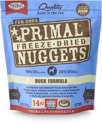 Primal Freeze-Dried Canine Duck Formula Food