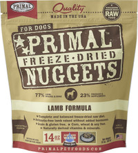 Primal Freeze-Dried Canine Lamb Formula Food