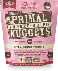 Primal Freeze-Dried Feline Beef & Salmon Formula Food