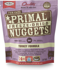 Primal Freeze-Dried Feline Turkey Formula Food