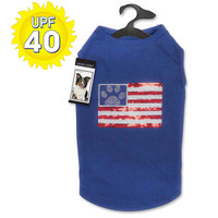 Sequin Flag UPF 40 Tank