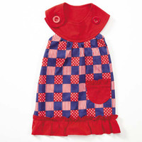 Patriotic Pooch Patchwork SPF 40 Dress