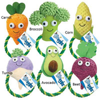 Happy Veggies Rope Tug
