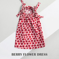Louisdog Berry Flower Dress
