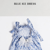Louisdog Blue Ice Dress