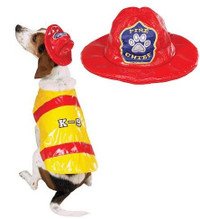 Pawfield Fire Chief Costume