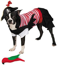 Pirate Tails Dog Costume (LAST ONE!)