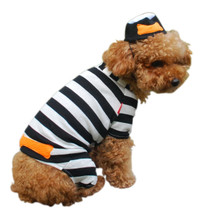 Jail Prisoner Dog Costume (LAST ONE!)