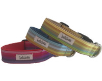 Ombre Cotton Stripe Collar & Lead
