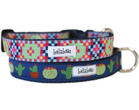 Quilted Succulents Collar & Lead