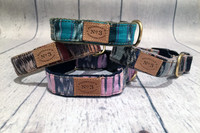 Limited Edition Ikat Collar & Lead