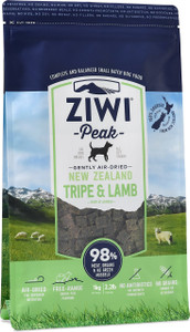 Air-Dried Tripe & Lamb Dog Food