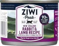 Moist Rabbit & Lamb Canned Cat Food