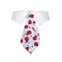 Lady Bug Shirt Tie Collar
