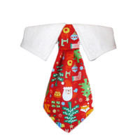 Navidad Shirt Tie Collar