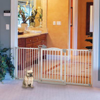 One-Touch Pet Gate II Wide