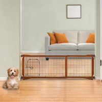 Pet Sitter Freestanding Gate Plus