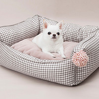Louisdog Pompom Egyptian Cotton Boom Bed