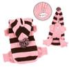 Pink Stripe Dog Bodysuit