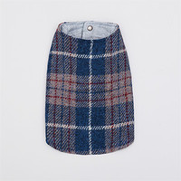 Louisdog Blue Tweed Coat