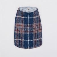 Louisdog Blue Tweed Coat