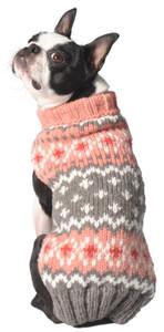 Peach Fairisle Sweater