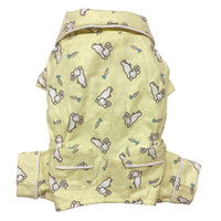 Hopping Bunny Flannel Pajamas