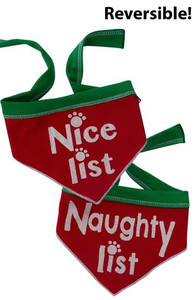 Naughty List & Nice List Reversible Scarf