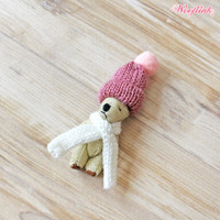 Wooflink Teddy Brooch