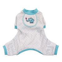Blue Elephant Dog Pajamas