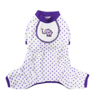 Purple Elephant Dog Pajamas