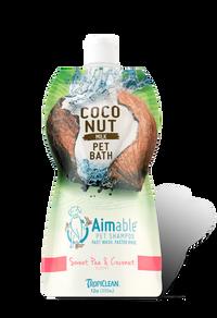 Tropiclean Sweet Pea & Coconut Aimable Pet Shampoo