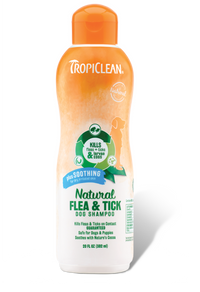Tropiclean Soothing Natural Flea & Tick Shampoo