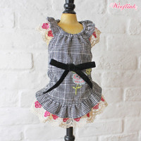 Wooflink Checkered Mini Dress