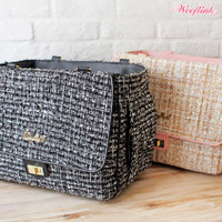 Wooflink Tweed Bag