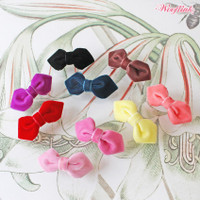Wooflink Mini Velvet Hair Bows