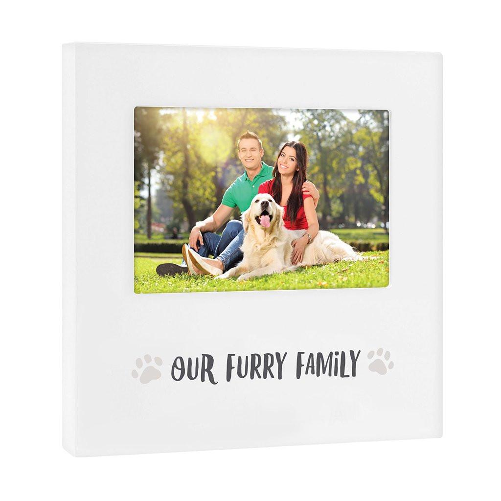 "Our Furry Family"" Sentiment Frame"