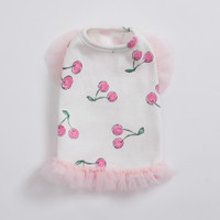 Louisdog Cherry Romance Top