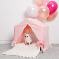 Louisdog Peekaboo Amazing Pink House