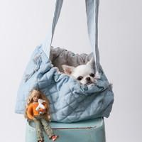 Louisdog Lucky Blue Sling Bag